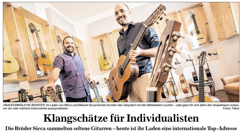 BNN Siccas Guitars Klangschaetze fuer Individualisten Vorschaubild
