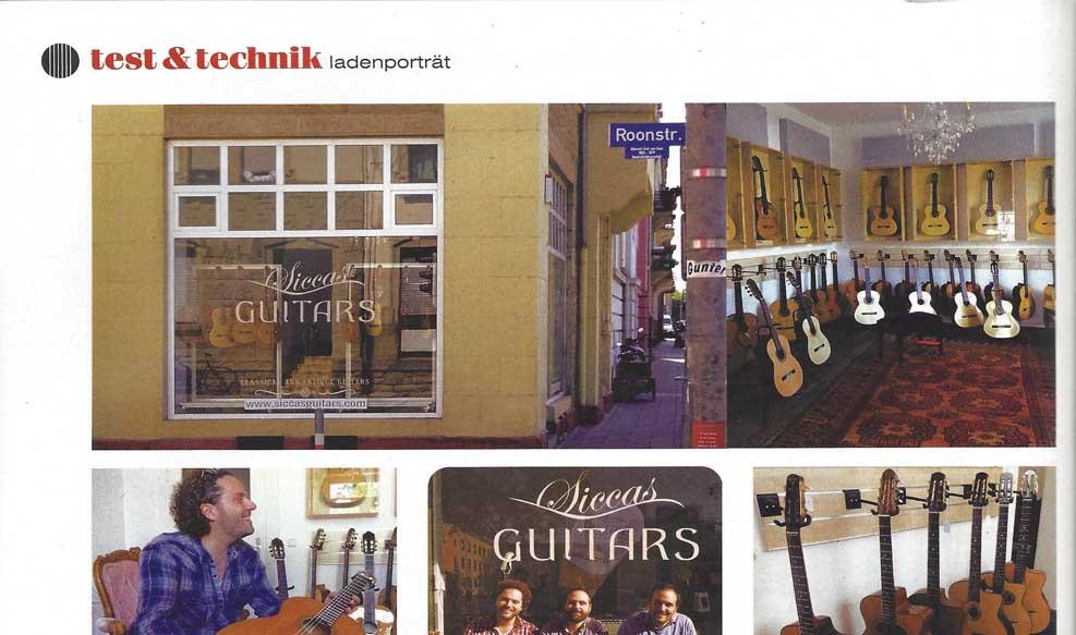 Guitar Acoustic Ladenportrait Siccas Guitars Vorschaubild