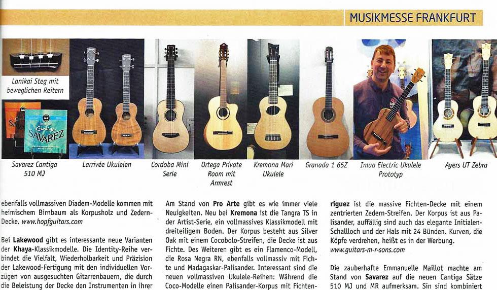 Gitarre Akustik Musikmesse Frankfurt 2016 Vorschaubild