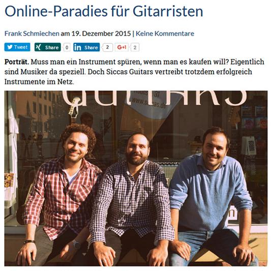 Gruenderszene Online Paradies fuer Gitarristen 2015 12 Vorschaubild