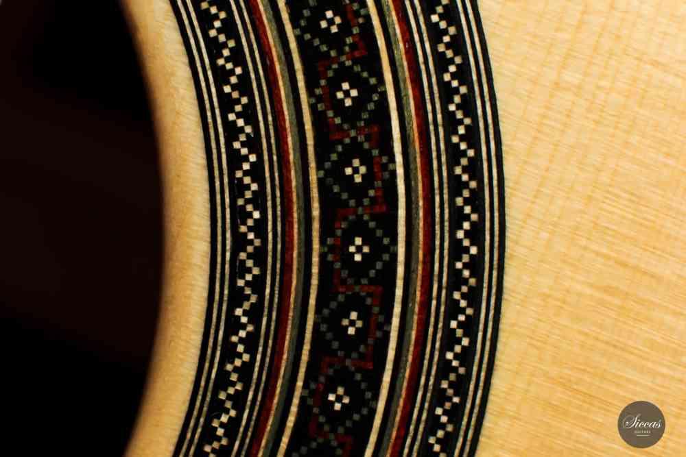 Classical guitar Adrian Heinzelmann 2021 rosette 3
