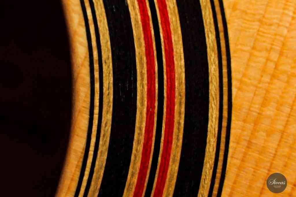 Classical guitar Dominik Wurth 2020 14 rosette