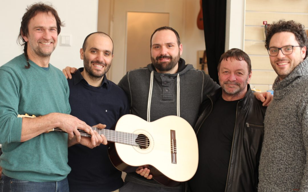 The Hanika concert guitars – a large selection of instruments