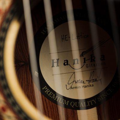 Classical guitar Armin Hanika HE Lattice 2021 13