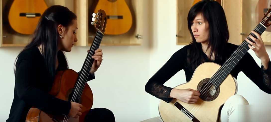 Isabella Selder and Eliska Lenhartova
