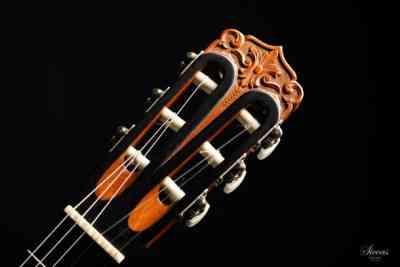 Classical guitar Richard Jacob Weissgerber 1932 head 2