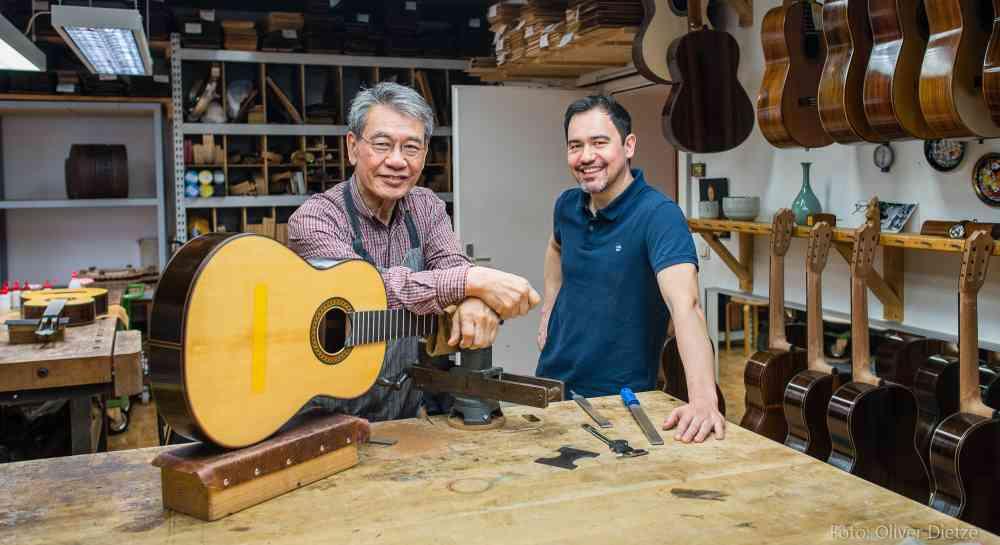 Kazuo Sato and Hideo Sato